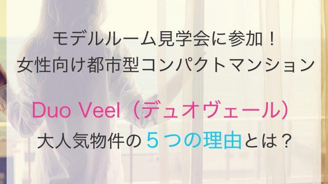 DuoVeel表紙 福岡市 分譲マンション DuoVeel 大濠公園 平尾