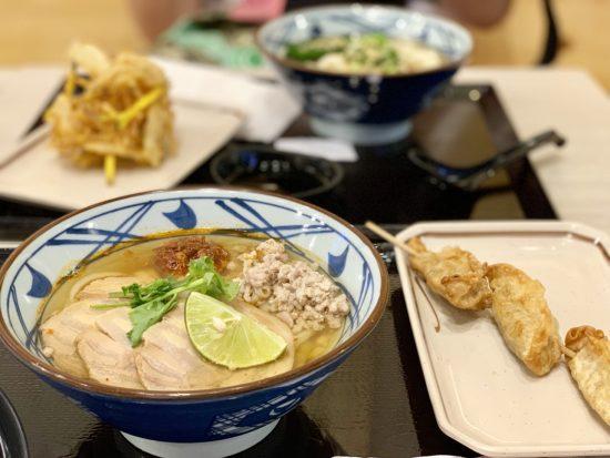 バンコク 丸亀製麺