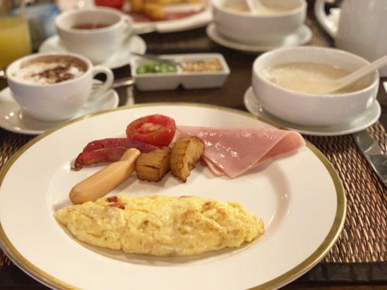 プラヤパラッツオ 朝食