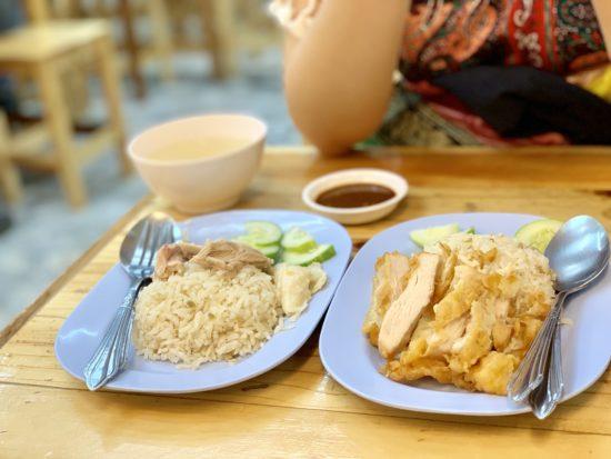 タイ料理 カオマンガイ カオサン通り