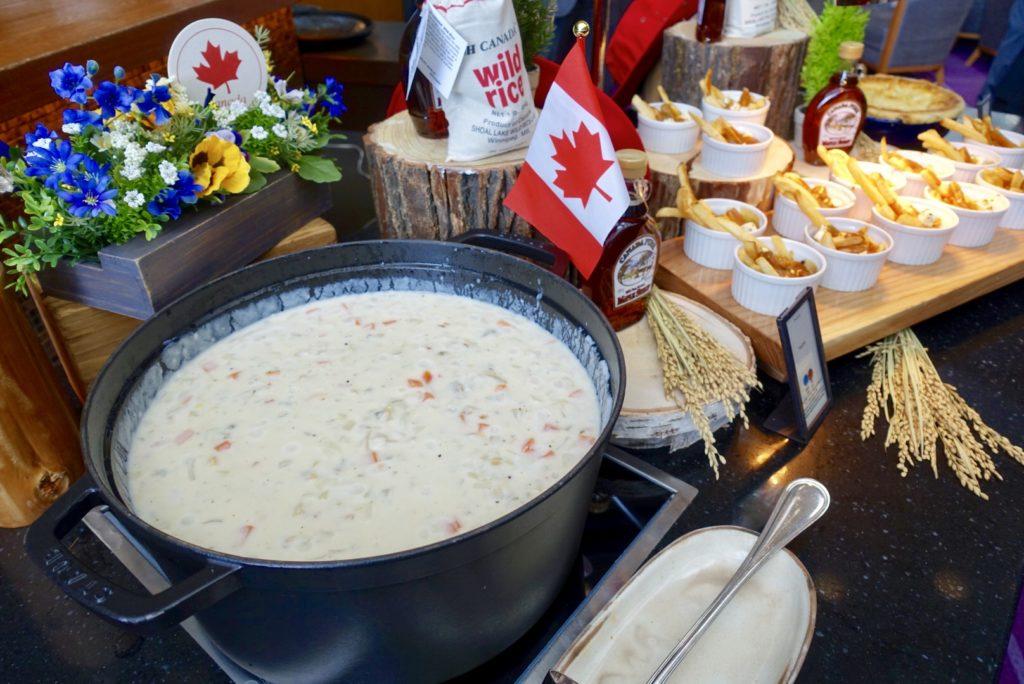 ヒルトン福岡 カナダ料理 カナディアンビュッフェ ランチ