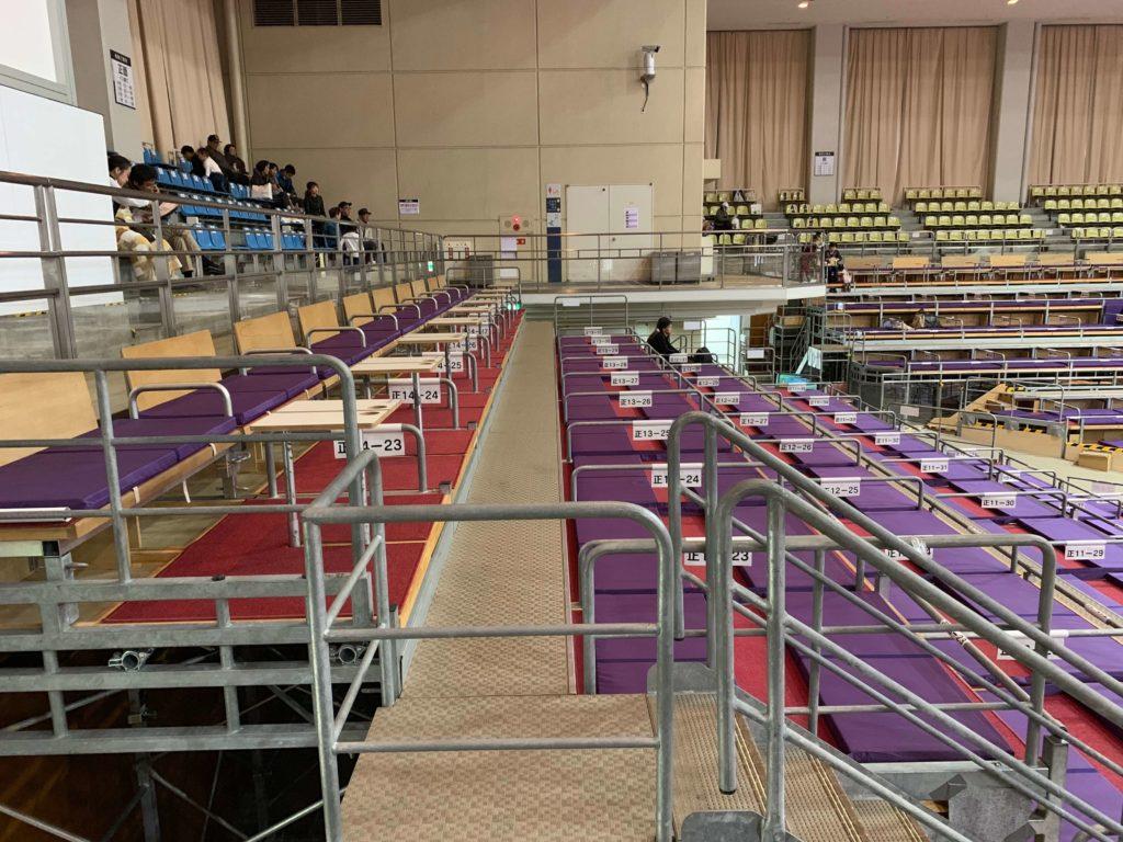 大相撲九州場所 座席